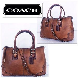 Coach Distressed Hamptons Hamilton Convertible Bag